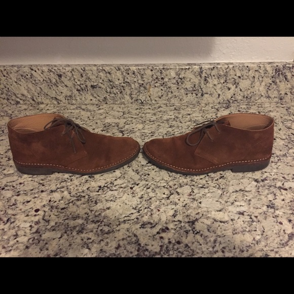 bed4a193123 BROOKS BROTHERS MENS FIELD CHUKKA BOOTS MENS 11.5